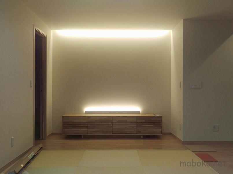 一条工務店 間接照明 コーニス照明