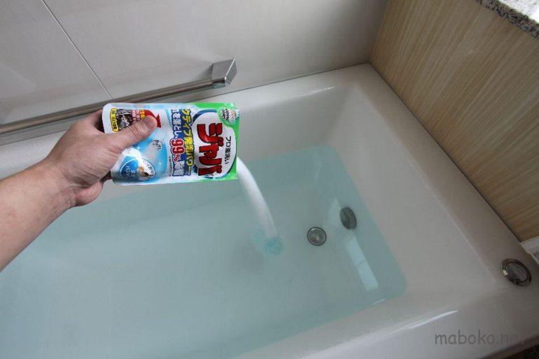 エコキュート ジャバ 循環洗浄 入浴剤