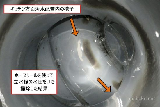 汚水 配管 汚れ