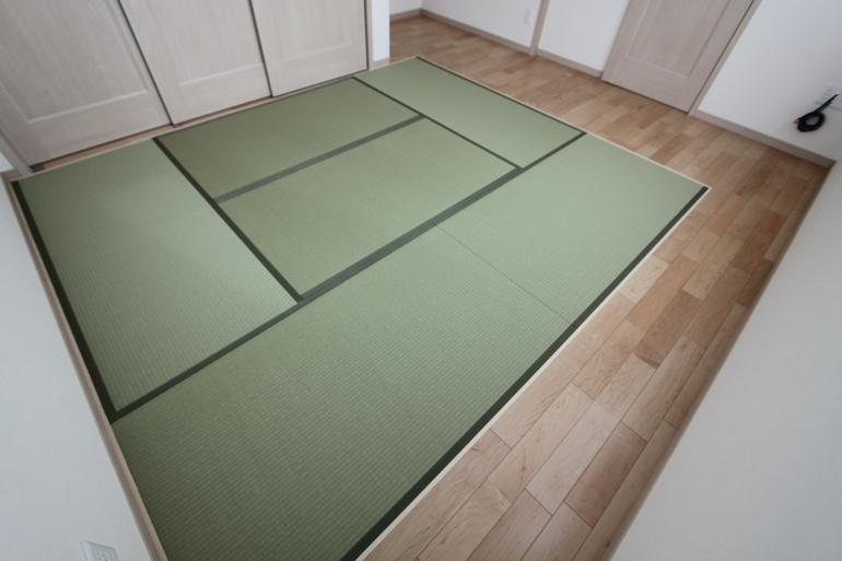 一条工務店 床暖房 布団 畳 フローリング
