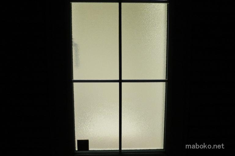 一条工務店 かすみガラス 透け具合