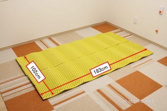 床暖房 布団 暑い 断熱マット